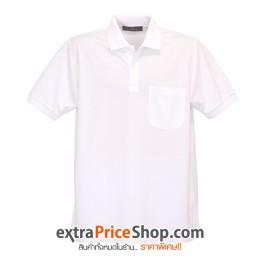 เสื้อโปโลสีขาว