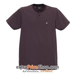 เสื้อยืด T-shirt สีน้ำตาลมีลาย