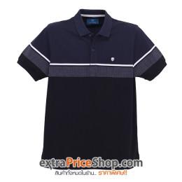 เสื้อโปโล Slim Fit สีน้ำเงิน