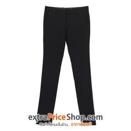 กางเกงสแล็คขายาวสีดำ