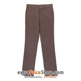 กางเกงขายาวสีน้ำตาล