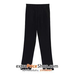กางเกงขายาวสีดำ