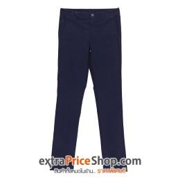 กางเกงขายาว ทรง Slim Fit สีน้ำเงินเข้ม