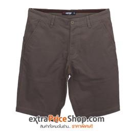 กางเกงขาสั้นสีน้ำตาล