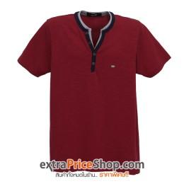 เสื้อยืด T-shirt สีแดง